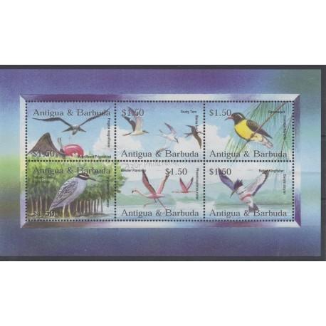 Antigua et Barbuda - 2002 - No 3316/3321 - Oiseaux