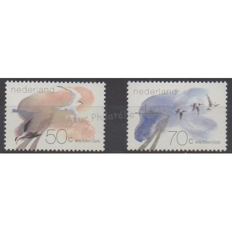 Pays-Bas - 1982 - No 1179/1180 - Oiseaux