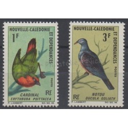 New Caledonia - 1966 - Nb 330/331