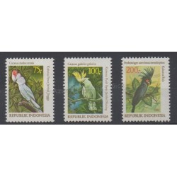Indonésie - 1981 - No 929/931 - Oiseaux
