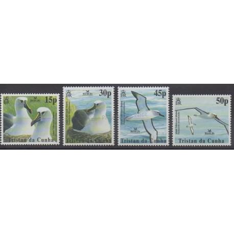 Tristan da Cunha - 2003 - No 730/733 - Oiseaux