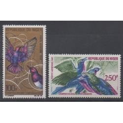 Niger - 1968 - No PA86/PA87 - Oiseaux
