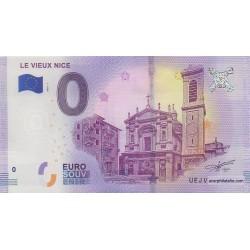 Billet souvenir - Le Vieux Nice - 2018-1 - 3 chiffres identiques