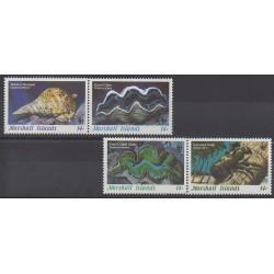 Marshall - 1986 - Nb 111/114 - Sea animals