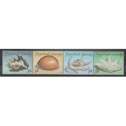 Marshall - 1998 - Nb 909/912 - Sea animals