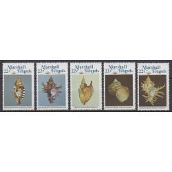 Marshall - 1985 - Nb 73/77 - Sea animals