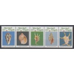 Marshall - 1987 - Nb 156/160 - Sea animals