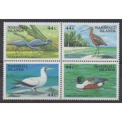 Marshall - 1988 - No 168/171 - Oiseaux