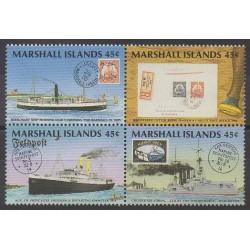 Marshall - 1989 - No 233/236 - Service postal - Philatélie