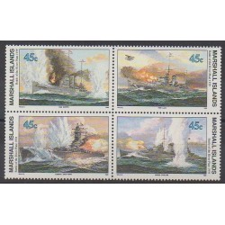 Marshall - 1989 - No 275/278 - Navigation - Seconde Guerre Mondiale