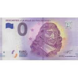 Euro banknote memory - 37 - Descartes - 2018-1