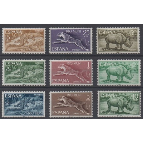 Rio Muni - 1964 - Nb 48/56 - Animals