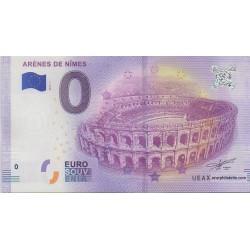 Euro banknote memory - 30 - Arènes de Nîmes - 2018-1