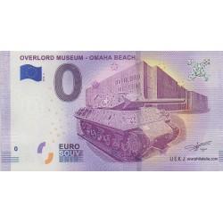 Euro banknote memory - 14 - Overlord Muséum - Omaha Beach - 2018-2
