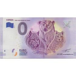 Euro banknote memory - 14 - Cerza - 2018-2