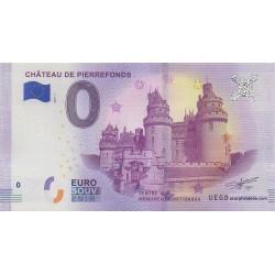 Billet souvenir - Château de Pierrefonds - 2018-1