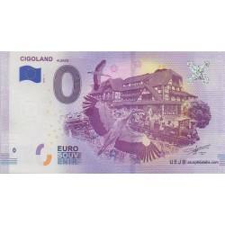 Billet souvenir - Cigoland - 2018-1