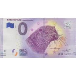 Billet souvenir - Naturoparc - 2018-2