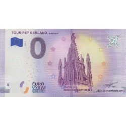 Euro banknote memory - 33 - Tour Pey Berland - 2018-1