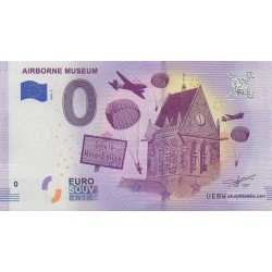 Euro banknote memory - Airborne Museum - 2018-2