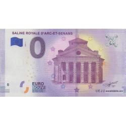 Euro banknote memory - 25 - Saline royale d'Arc-et-Senans - 2018-1