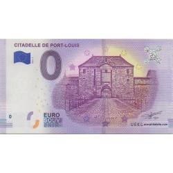 Billet souvenir - Citadelle de Port-Louis - 2018-2
