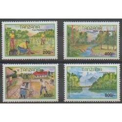 Tanzanie - 2000 - No 3130/3133 - Environnement