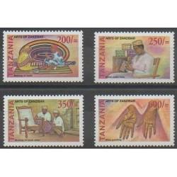 Tanzanie - 2002 - No 3177/3180 - Artisanat ou métiers