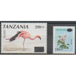 Tanzanie - 2002 - No 3176A/3176B - Oiseaux