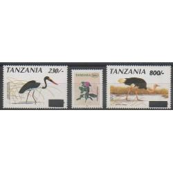 Tanzanie - 2004 - No 3282/3284 - Oiseaux