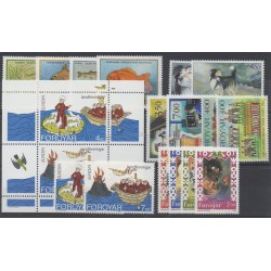 Faroe (Islands) - 1994 - Nb 250/267