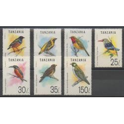 Tanzanie - 1993 - No 1166/1172 - Oiseaux