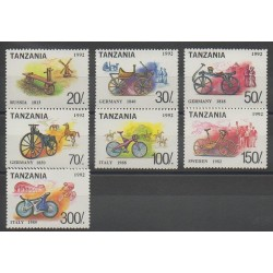 Tanzanie - 1994 - No 1356/1362 - Transports