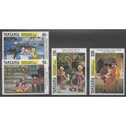 Tanzania - 1994 - Nb 1370/1373 - Walt Disney
