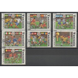 Tanzania - 1994 - Nb 1715A/1715G - Soccer World Cup - Used