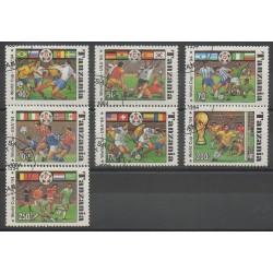 Tanzanie - 1994 - No 1715A/1715G - Coupe du monde de football - Oblitérés