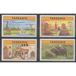 Tanzanie - 1997 - No 2266/2269 - Tourisme