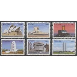 Tanzania - 1997 - Nb 2276/2281 - Monuments