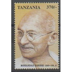 Tanzanie - 1998 - No 2572 - Célébrités