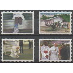 Tanzania - 2005 - Nb 3373/3376 - Pope