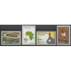 Tanzanie - 2006 - No 3467/3470 - Coupe du monde de football