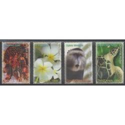 Tanzanie - 2006 - No 3475/3478 - Espèces menacées - WWF