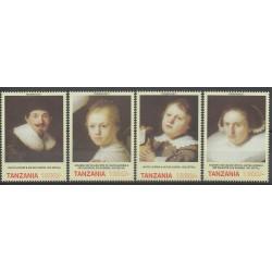 Tanzania - 2006 - Nb 3463/3466 - Paintings