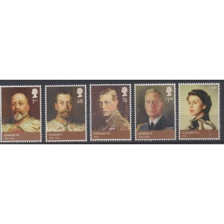 Great Britain - 2012 - Nb 3589/3593 - Royauté