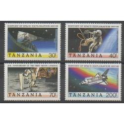 Tanzanie - 1989 - No 468/471 - Espace