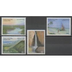 Tanzania - 2003 - Nb 3216/3219 - Sights