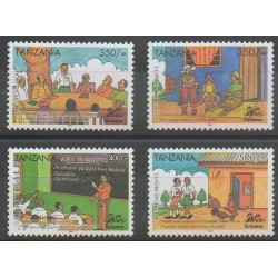 Tanzania - 2004 - Nb 3297/3300 - Childhood