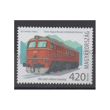 Hungary - 2015 - Nb 4610 - Trains