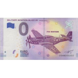 Billet souvenir - Military Aviation Museum - 2018-1 - No 202