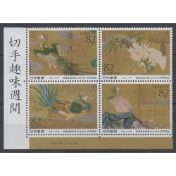 Japon - 2015 - No 6988/6991 - Peinture